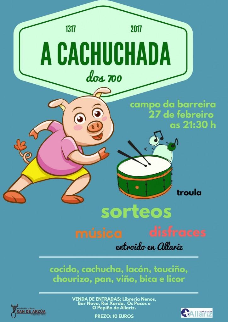 cartel cachuchada 2017