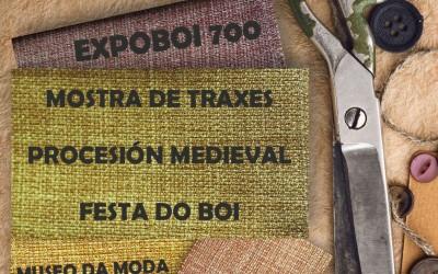 EXPOBOI 700 –  Mostra de traxes da procesión medieval